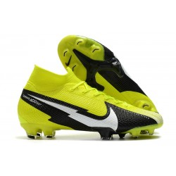 Nike Mercurial Superfly VII Elite FG ACC Yellow Black White