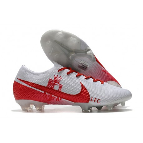 New Nike Mercurial Vapor 13 Elite FG LFC White Red