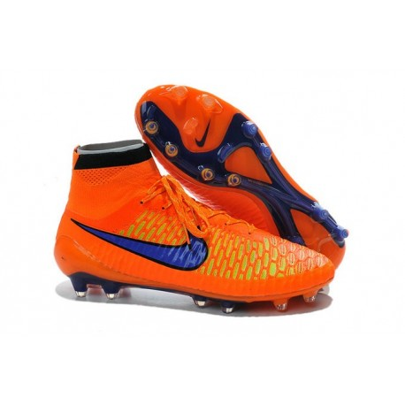 Boots For Men Nike Magista Obra FG Soccer Boots Orange Violet