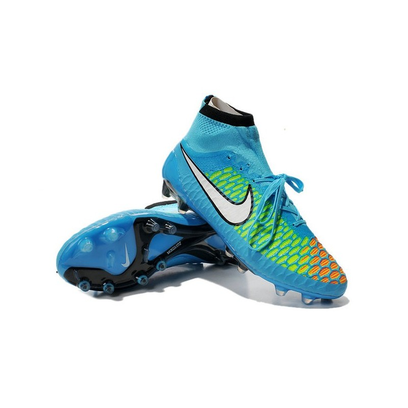 Nike Magista Obra FG Soccer Cleats - Low Price Blue Green ...