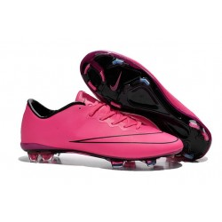 New - NIKE MEN'S Mercurial Vapor 10 FG Hyper Pink Black