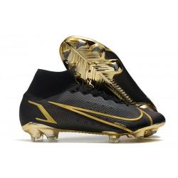 New Nike Mercurial Superfly 8 Elite FG Black Gold