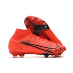 Nike Mercurial Superfly VIII Elite FG Red Black