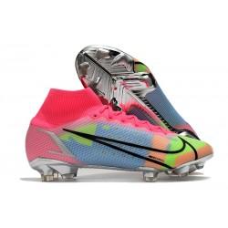 Nike Mercurial Superfly VIII Elite FG Pink Blue Volt