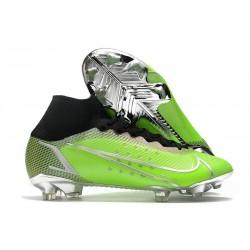 Nike Mercurial Superfly VIII Elite FG Green Silver