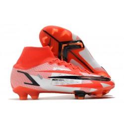 Nike Superfly 8 Spark Positivity CR7 Elite FG Red White Black