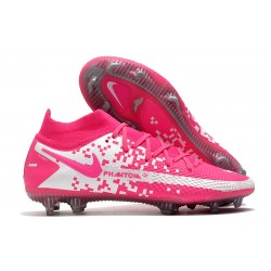 Nike Phantom GT Elite DF FG Mens Cleat Pink Blast White