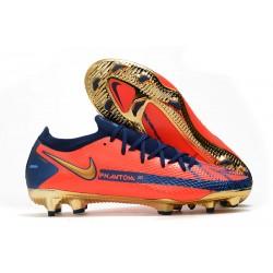 Nike Phantom Generative Texture Elite FG Orange Blue Gold