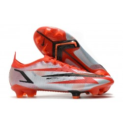 New Nike Mercurial Vapor XIV Elite FG Chile Red Black White Total Orange
