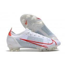 Nike Mercurial Vapor 14 Elite FG Boot White Red