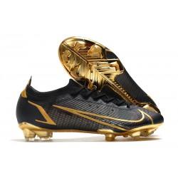 Nike Mercurial Vapor 14 Elite FG Boot Black Gold