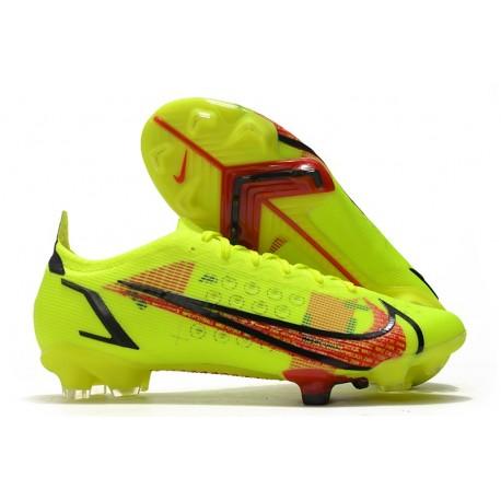 Nike Mercurial Vapor 14 Elite FG Boot Volt Bright Crimson Black
