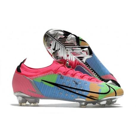 Nike Mercurial Vapor 14 Elite FG Boot Blue Pink Green