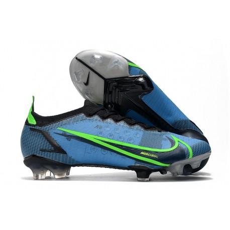 Nike Mercurial Vapor 14 Elite FG Boot Blue Black Green