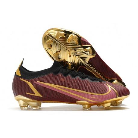 Nike Mercurial Vapor 14 Elite FG Boot Red Golden