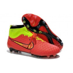 Boots For Men Nike Magista Obra FG Soccer Boots Red Or Green