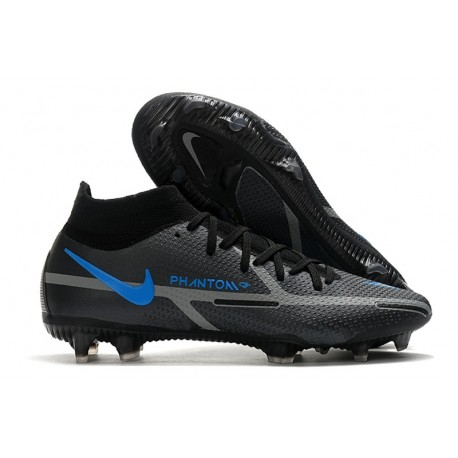 Nike Phantom Generative Texture II Elite DF FG Renew - Black Iron Grey