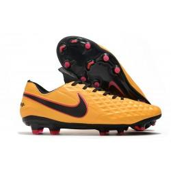 Nike Tiempo Legend VIII Elite FG Cleat Orange Black