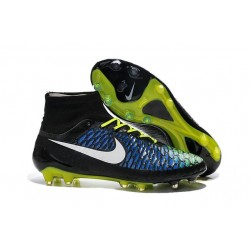 Nike Magista Obra FG Soccer Cleats - Low Price Black Blue Volt
