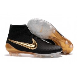 New Shoes - Nike Magista Obra Firm-Ground Football Cleats Black White Gold
