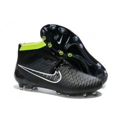 Boots For Men Nike Magista Obra FG Soccer Boots Black Volt White